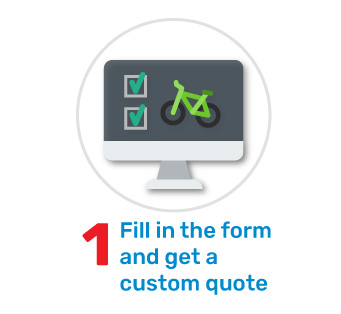 your bike policy online: in 3 steps make your quote for the bike insurance